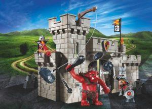 Playmobil Κάστρο Ιπποτών & Ξωτικό (5670)