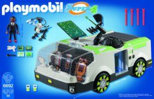 Playmobil Super 4 - Ο Πράκτορας DNA & To Techno Chameleon (6692)