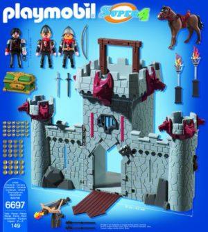 Playmobil Super 4 - Κάστρο Μαύρου Βαρώνου (6697)