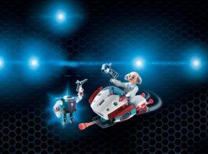 Playmobil Super 4 Ο Δόκτωρ X & Το Skyjet Tου (9003)