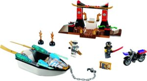 LEGO Juniors Zane's Ninja Boat Pursuit (10755)