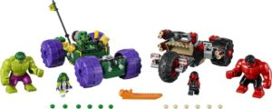 LEGO Super Heroes Mighty Micros: Hulk vs. Red Hulk (76078)
