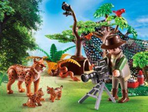 Playmobil Εικονολήπτης & Οικογένεια Από Λύγκες (5561)