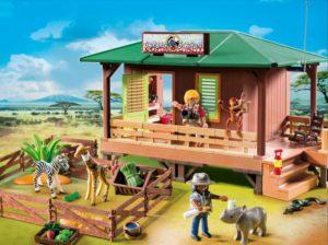 Playmobil Σταθμός Περίθαλψης Άγριων Ζώων (6936)