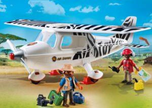 Playmobil Αεροπλάνο Σαφάρι (6938)