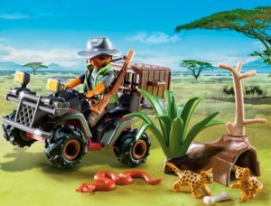 Playmobil Λαθροκυνηγός Άγριων Ζώων (6939)