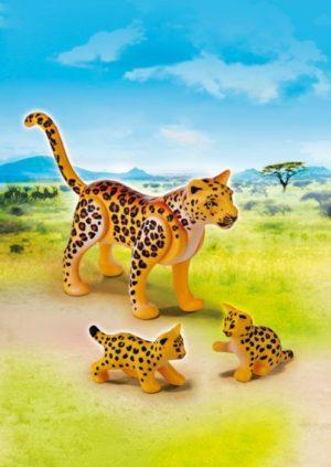 Playmobil Λεοάρδαλη Με Τα Μωρά της (6940)