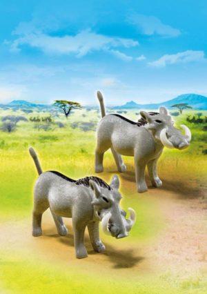 Playmobil Αφρικανικοί Φακόχοιροι (6941)