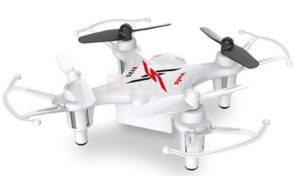Syma Τηλεκατευθυνόμενο Drone Quadcopter Nano White 2.4GHz (X12S)