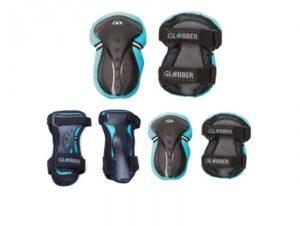 Globber Προστατευτικός Εξοπλισμός XS (25-50kg) Blue-(541-100)