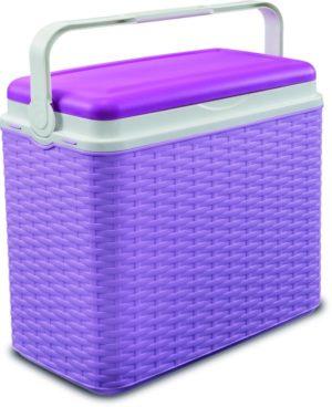 Adriatic Φορητό Ψυγείο Midollino 24lt-Lavender (8960)