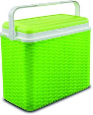 Adriatic Φορητό Ψυγείο Midollino 24lt-Green (8962)