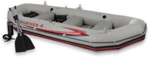 Intex Βάρκα 4 Ατόμων Mariner 4 Boat-328x145x48cm (68376NP)