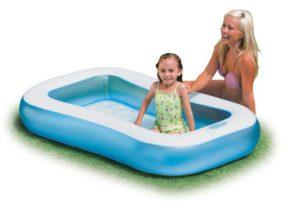Intex Πισίνα Rectangular Baby Pool 166x100x28cm (57403NP)