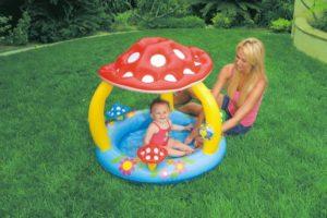 Intex Πισίνα Mushroom Baby (57407NP)
