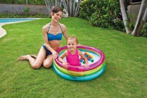 Intex Πισίνα 3-Ring Baby Ball Pit-86x25cm (48674NP)