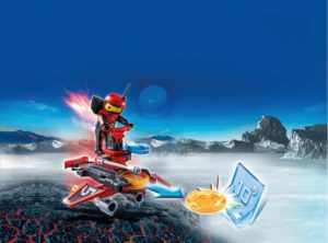 Playmobil Firebot Με Εκτοξευτή Δίσκων (6835)