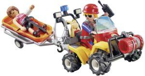 Playmobil ''Γουρούνα'' Με Φορείο Διάσωσης Ορειβατών (9130)