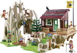 Playmobil Ορειβατική Καλύβα & Βράχια Αναρρίχησης (9126)