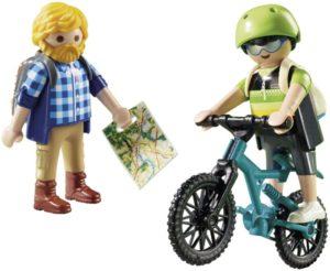 Playmobil Ποδηλάτης & Ορειβάτης (9129)