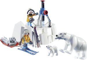 Playmobil Εξερευνητές Αρκτικής & Πολικές Αρκούδες (9056)