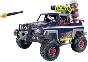 Playmobil Πειρατές Του Πάγου Με Όχημα 4x4 (9059)