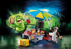 Playmobil Ghostbusters Γλίτσας & Πωλητής Hot Dog (9222)
