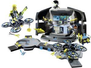Playmobil Αρχηγείο Του Dr. Drone (9250)