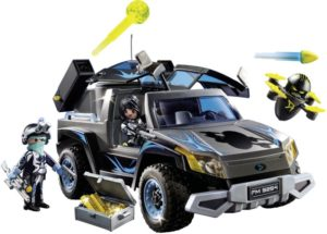 Playmobil Όχημα Pickup Του Dr. Drone (9254)