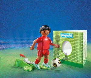 Playmobil FIFA 2018 Ποδοσφαιριστής Βελγίου (9509)