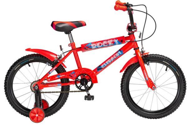 Clermont Ποδήλατο 16'' Rocky-Κόκκινο (410-ΚΟΚΚΙΝΟ)