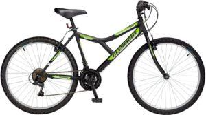 Clermont Ποδήλατο 26'' Sierra Shimano-Μαύρο (785-ΜΑΥΡΟ)