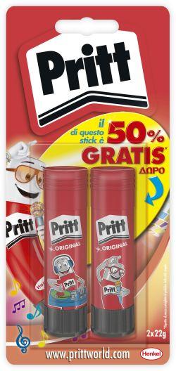 Pritt Κόλλα Stick 2x22gr (1632295)