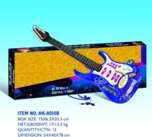 BW Κιθάρα B/O Rock N'Roll W/Mic-3 Χρώματα (HK-8010B)