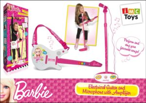 Imc Barbie Ηλεκτρική Κιθάρα & Μικρόφωνο (784154)