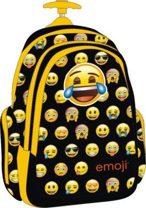 Emoji Little Faces Σακίδιο Trolley Διπλό (167932)
