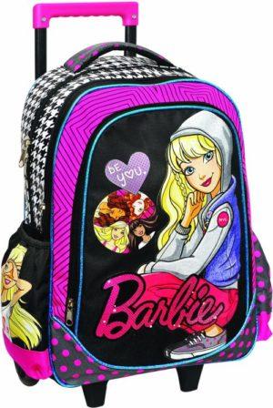 Barbie Fashionistas Σακίδιο Trolley (349-56074)+Δώρο Κούκλα Barbie
