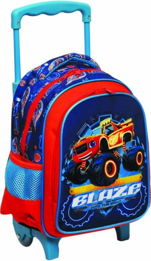 Blaze Σακίδιο Νηπιαγωγείου Trolley (334-62072)