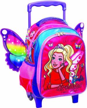 Barbie Dreamer Σακίδιο Νηπιαγωγείου Trolley (349-58072)