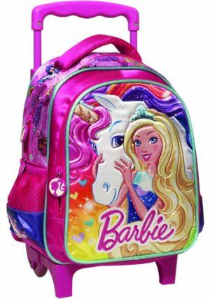 Barbie Unicorn Σακίδιο Νηπιαγωγείου Trolley (349-62072)