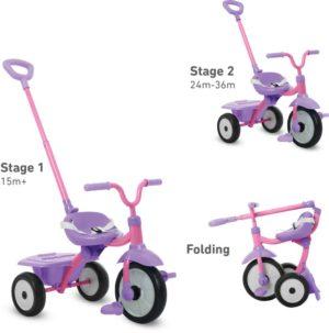 Smart Trike Τρίκυκλο Folding Fun Purple (1310200)