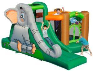 Happy Hop Φουσκωτό Τραμπολίνο Elephant's Cave (9274)
