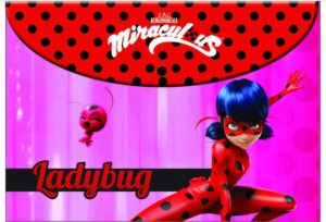 Ladybug Φάκελος Με Κουμπί PP (346-01580)