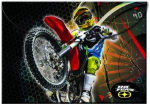 No Fear Motocross Φάκελος Κουμπί (347-44580)