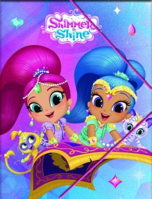 Shimmer & Shine Ντοσιέ Λάστιχο Α4 PP (334-45515)