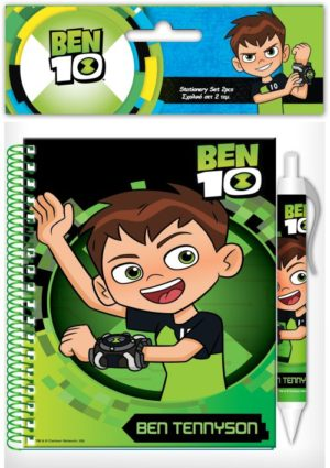 Ben 10 Σημειωματάριο 10x15cm Με Στυλό (0500230)