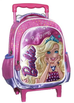 Barbie Dreamtopia Σακίδιο Νηπιαγωγείου Trolley (349-61072)