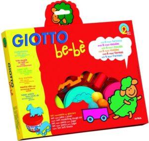 Giotto Πλαστοζυμαράκια Bebe 3Τμχ Με Σύνεργα (0462900)