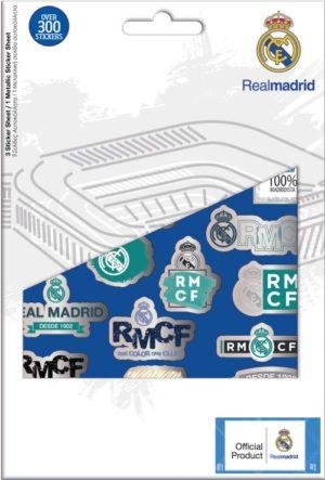 Real Madrid Αυτοκόλλητα Μπλοκ 14