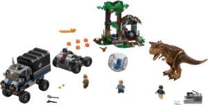 LEGO Jurassic World Carnotaurus Gyrosphere Escape (75929)
